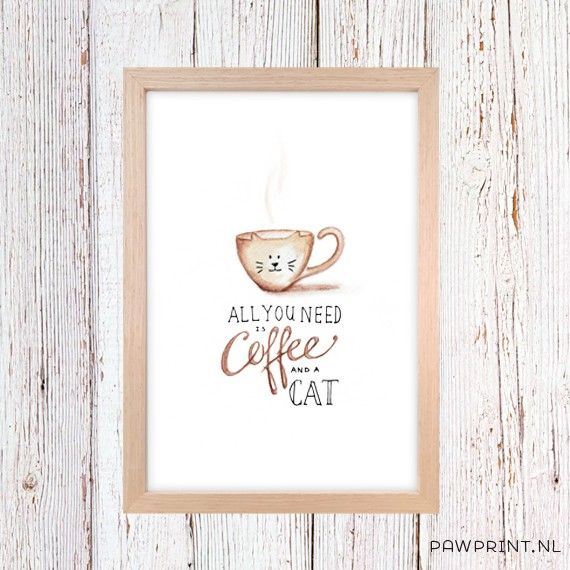 Coffee_cat_A4_Wood