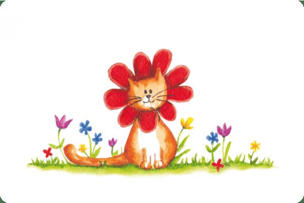 Flower_Cat_100X150